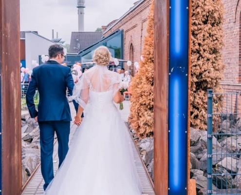Brautpaarshooting Lokschuppen Bottrop