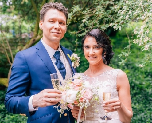 Brautpaarshooting Restaurant Rennbahn Neuss