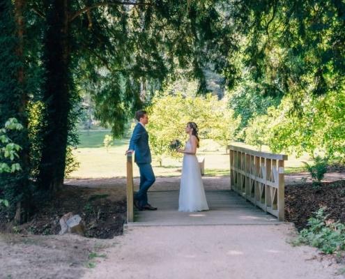 First Look und Brautpaarshooting im Schloss Dyck Jüchen