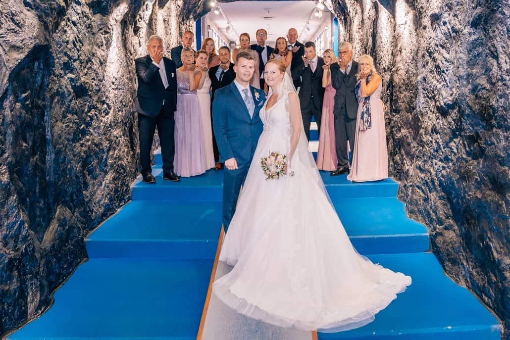 Hochzeit auf Schalke