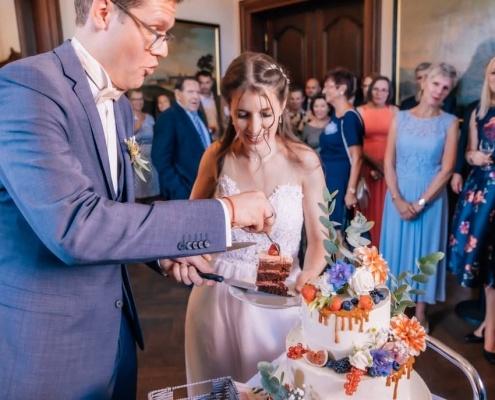 Hochzeitstorte im Schloss Dyck Jüchen