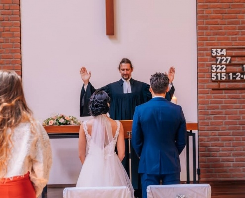 Russische kirchliche Trauung