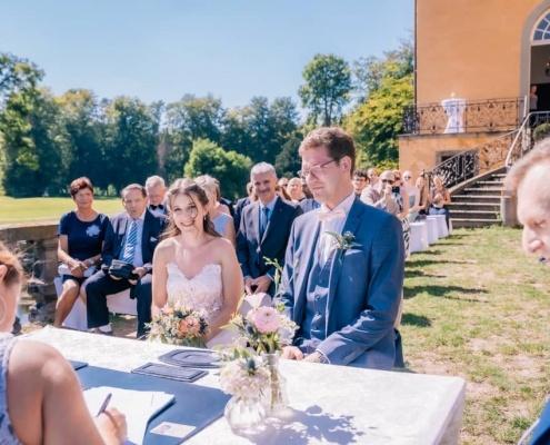 Standesamtliche Trauung im Schloss Dyck Jüchen