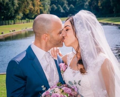 Brautpaarshooting im Schloss Benrath Düsseldorf-1000