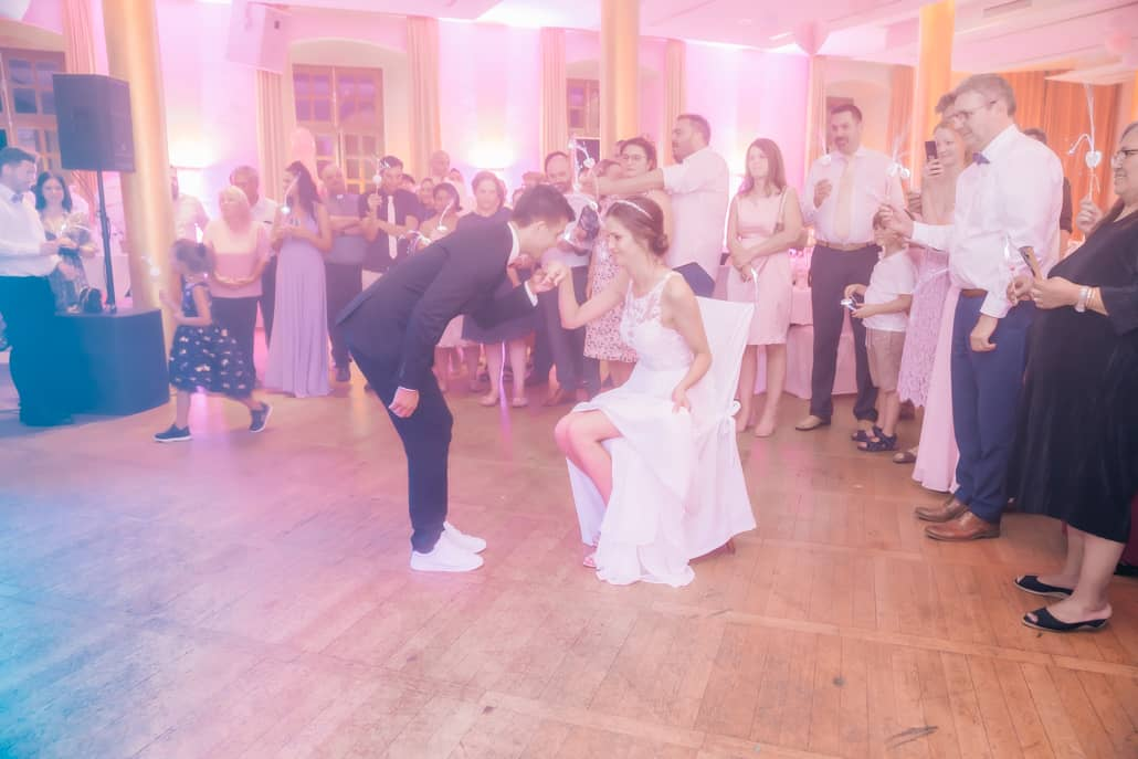 Hochzeitsfeier im Schloss Borbeck