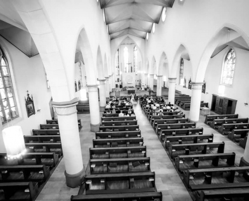 Kirchliche Trauung St. Dionysius Essen Borbeck